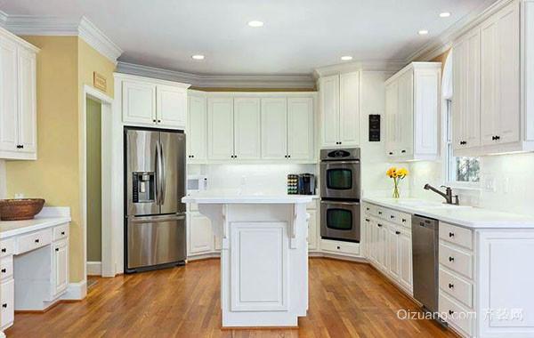 现代欧式风格开放式厨房装修效果图赏析