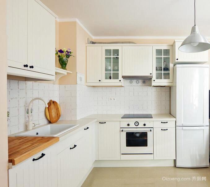 简欧风格大户型厨房设计装修效果图