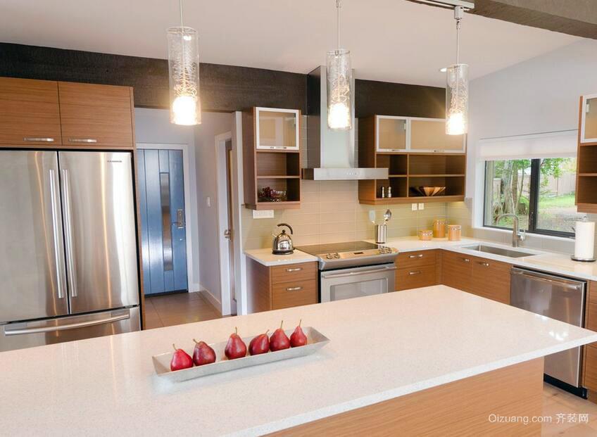 2016完美欧式厨房室内设计装修效果图实例