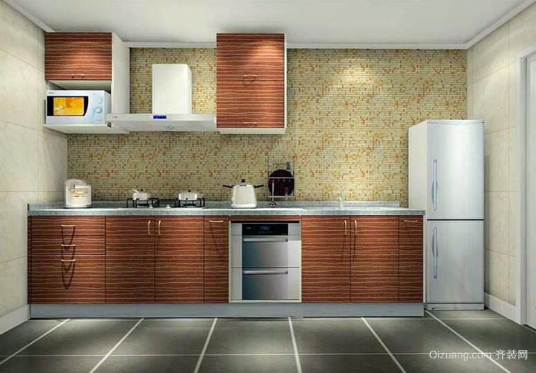 2016唯美大气欧式厨房室内橱柜装修效果图