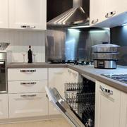 大户型欧式风格精美厨房吊顶装修效果图