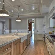 欧式典雅开放式厨房设计