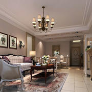 小户型也能拥有的欧式风格客厅装修效果图