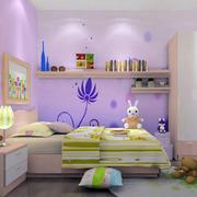 时尚梦话儿童房装修效果图
