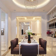 2016经典欧式大户型餐厅室内装修效果图