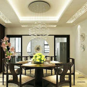 100平米欧式餐厅室内设计装修效果图鉴赏