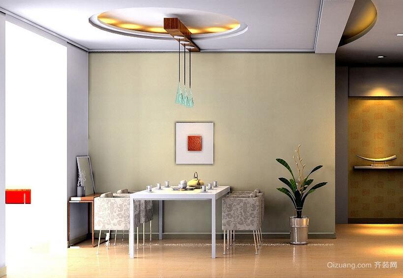 2016小户型现代简约餐厅装修效果图实例