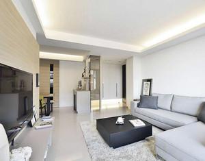 小户型欧式风格客厅背景墙装修效果图实例