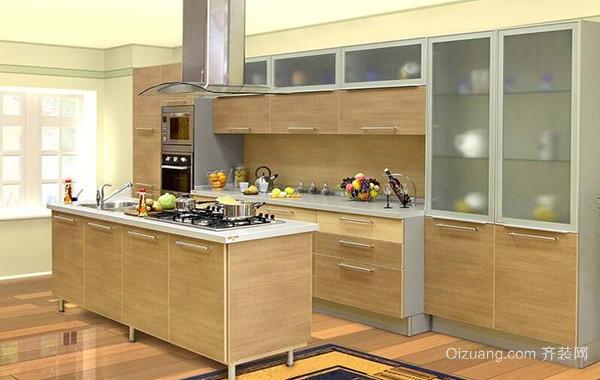 100平米别墅型欧式家庭厨房吊顶装修效果图