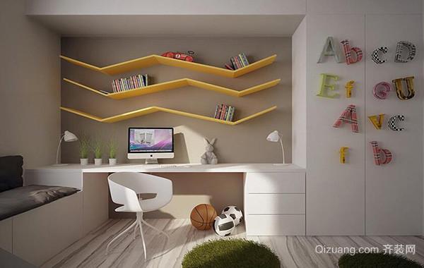 2016大户型欧式儿童卧室背景墙装修效果图