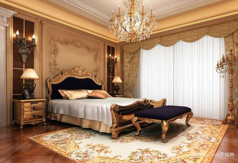欧式风格雍容华贵卧室装修效果图