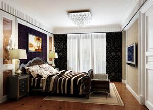 现代简约时尚精致卧室装修效果图