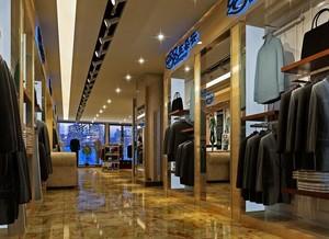 100平米现代唯美服装店室内设计装修效果图