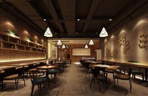 120平米都市完美餐厅室内设计装修效果图