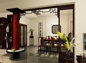 2016中式精致餐厅室内设计装修效果图实例