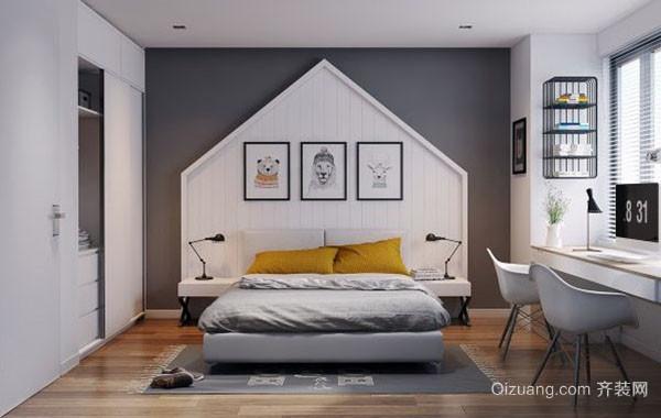 现代简约时尚卧室装修效果图赏析