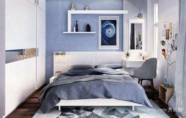 2016年全新款现代简约潮流卧室装修效果图大全