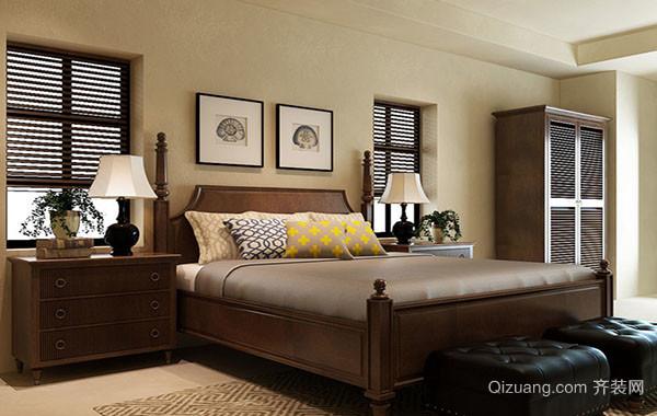 美式风格精致卧室装修效果图大全