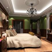 卧室时尚壁纸设计