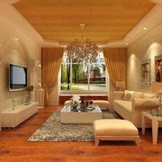 现代欧式精美别墅型客厅装修效果图欣赏