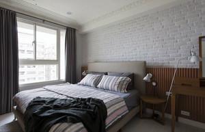 100平米欧式田园风格卧室装修效果图