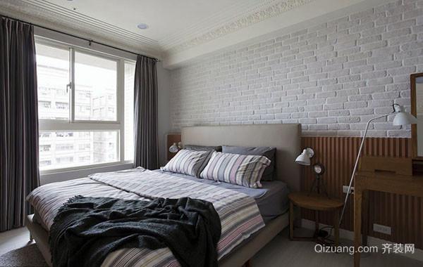 北欧风格极简主义卧室装修效果图