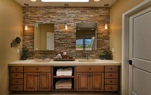 美式风格大户型卫生间装修效果图鉴赏