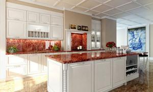 欧式风格精致厨房装修效果图