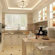 厨房整体效果图