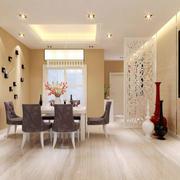 120平米欧式餐厅室内设计装修效果图