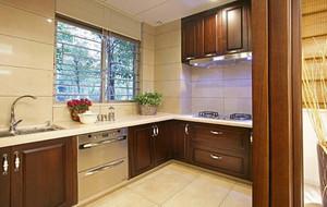 2016别墅型欧式厨房室内吊顶设计装修效果图