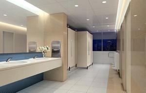 欧式风格别墅型卫生间吊顶装修效果图