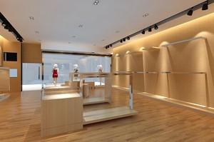 120平米都市服装店室内设计装修效果图实例