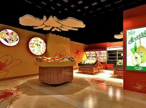 2016时尚的水果店室内设计装修效果图