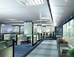 2016精美的办公室室内吊顶设计装修效果图