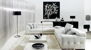都市后现代风格小客厅装修效果图
