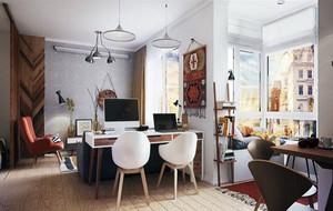 80平米现代时尚精致室内装修效果图赏析