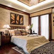 卧室精致背景墙效果图