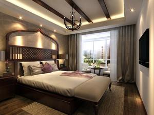 东南亚风格简约时尚卧室装修效果图