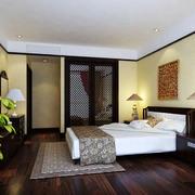2016年全新款东南亚风格卧室装修效果图