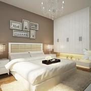 简欧风格别墅型卧室设计装修效果图