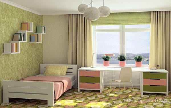 欧式简约时尚儿童房装修效果图大全