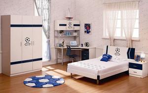 10平米都市时尚简约儿童房装修效果图