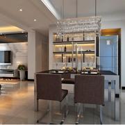 2016欧式大户型酒柜室内设计装修效果图