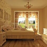 欧式田园风格卧室吊灯设计