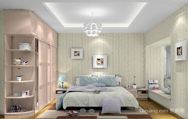 现代田园风格卧室装修效果图大全