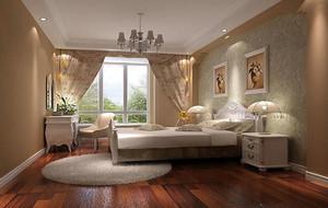 小清新风格时尚精致卧室装修效果图
