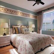 小清新卧室效果图
