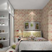 时尚碎花卧室设计