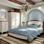 2016别墅型地中海风格卧室装修效果图实例